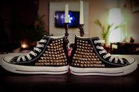 DIY Studded Converse