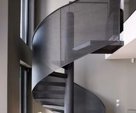 Modern Winding Staircase