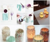 DIY Votive Mason Jars