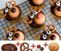 DIY Reindeer Cupcakes