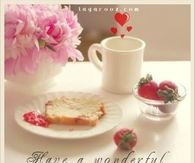 Have a wonderful morning