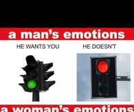 A man vs a womans emotions