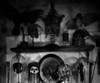 Mantels full of skulls