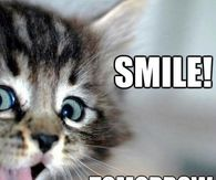Smile, tomorrow is Friday