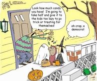 A Democrat On Halloween