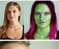 Glamora Guardians of the Galaxy Makeup Tutorial
