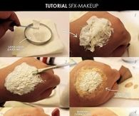 DIY Makeup Wounds