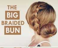 DIY Big Braided Bun