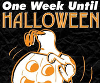 One week until Halloween