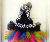 Cute Handmade Witch Wreath