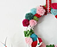 Pom Pom Posie Wreath