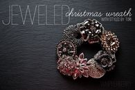Jeweled Christmas Wreath