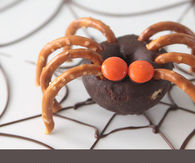 Mini Donut Spiders