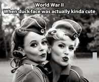 WWII Duck faces