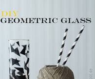 DIY Geomentric Glasses