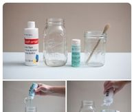 DIY Colored Mason Jar Tutorials