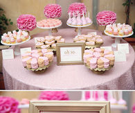Pretty Pink Baby Shower Theme