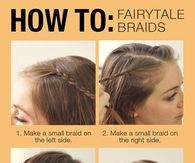 DIY Fairytale Braids