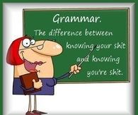 Different Grammar