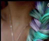 Colorful Fish Tail Braid
