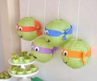 teenage mutant ninja turtles party idea
