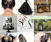 Inspiration Board for Halloween Wedding Ideas