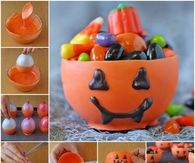 Pumpkin Chocolate Candy Cups