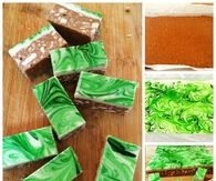 DIY Chocolate Peppermint Slice