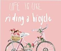 Life is like a riding a bicycle