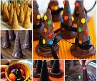 Wicked Witches Hat Cookies