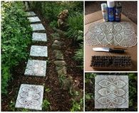 How to make lace like stepping stones