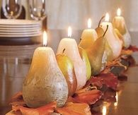 Pear Candle Centerpiece
