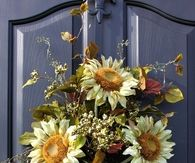 Sunflower Wreath for Summer & Fall