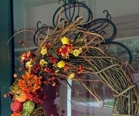 Beautiful Fall Grapevine Wreath