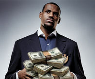 Lebron James Gets paid to come back home