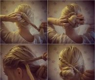 DIY Vintage Braided Bun