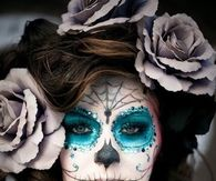 Sugar Skull Doll Face Makeup