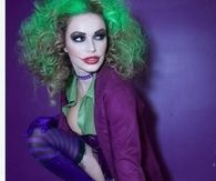 Sexy Female Joker Costume