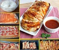 Easy To Make Pepperoni Pizza Bread