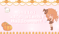 Smile its almost Halloween