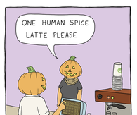 One human spice latte please