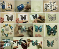 DIY Plastic Bottle Butterflies