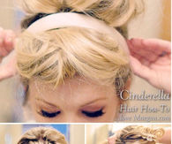 DIY Cinderella Hair