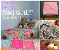 Rag Quilt Tutorial Craft