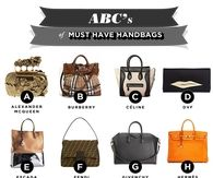 the must have handbags