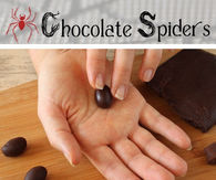 DIY Chocolate Spiders