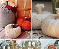 Sweater Pumpkin DIY Decor