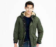 Hooded heathfield jacket