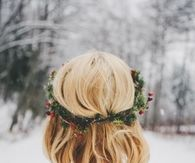 Holly hair crown