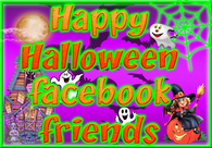 Happy Halloween Facebook friends